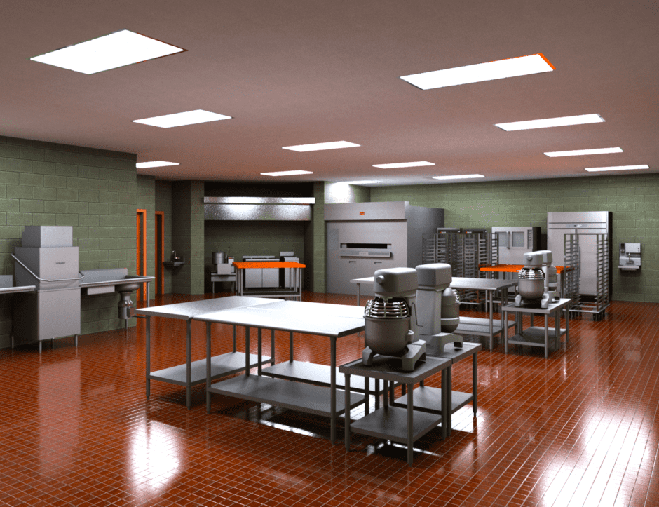 Upper Bucks Bakery A Design By Corsi Associates Awesome Bakery Kitchen Design