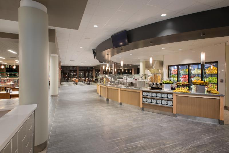 Custom Hartford University Dining Commons Cafeteria Design