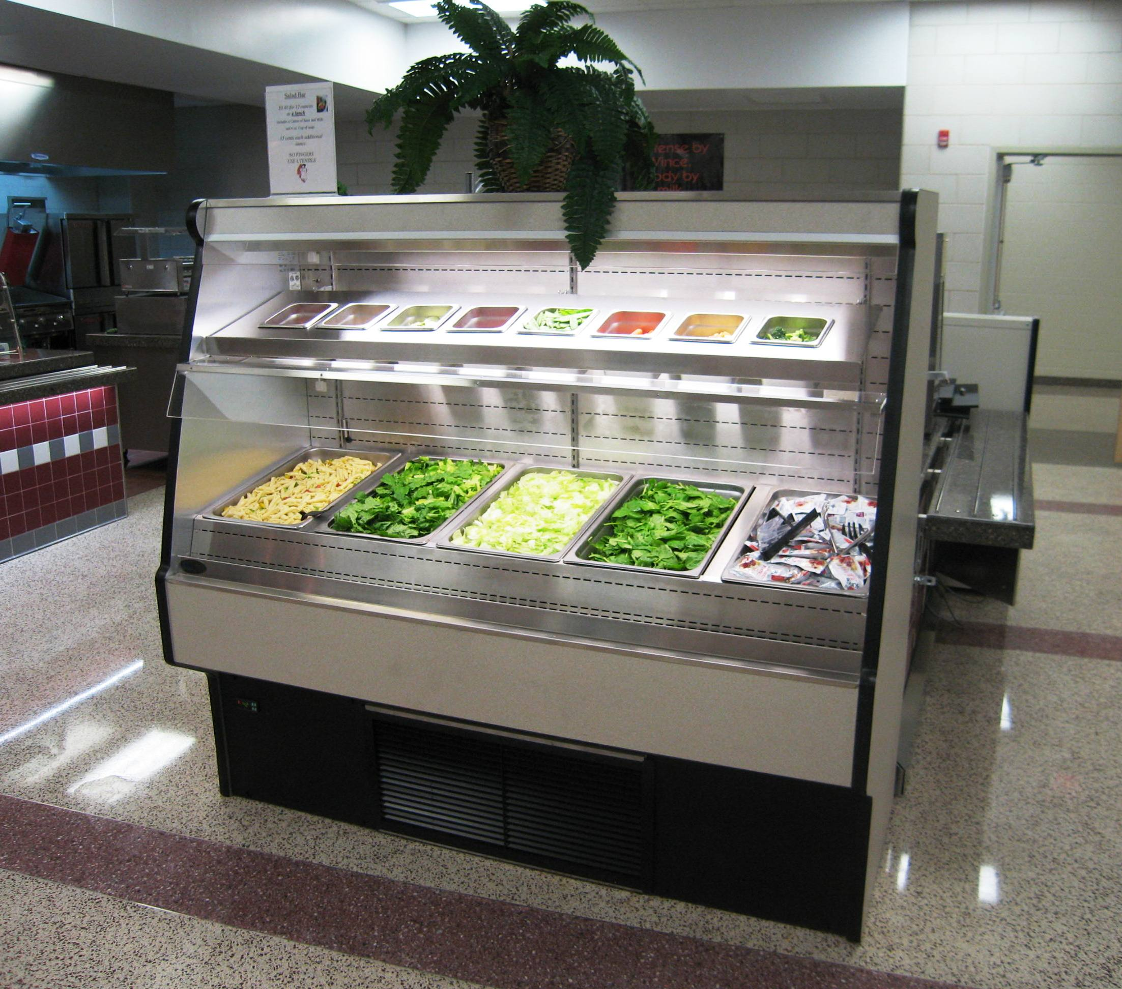 Custom Lower Merion High School Cafeteria Design