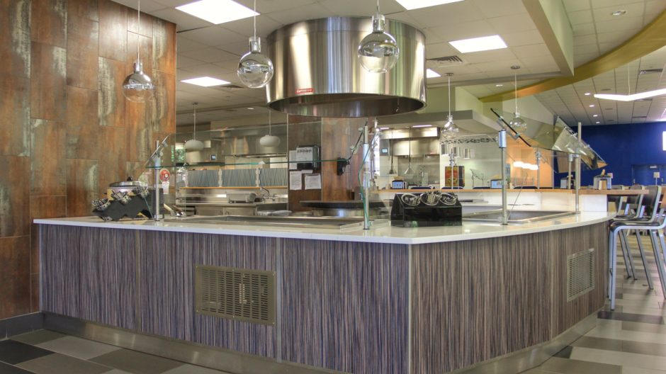 Custom Lasalle University Cafeteria Design