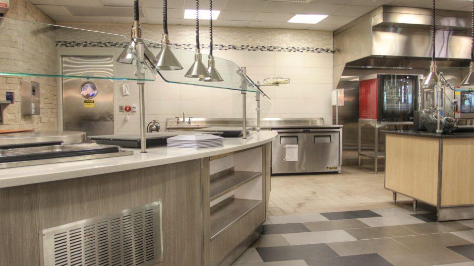 Custom Lasalle University Cafeteria Design